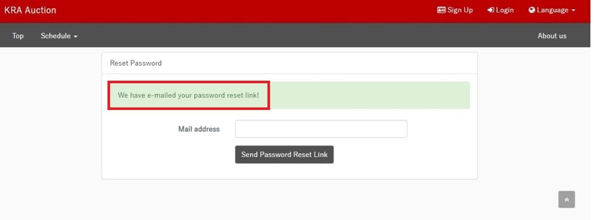 Send Password Reset Link